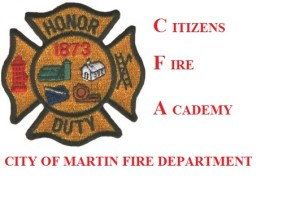 5th Edition of Citizens Fire Academy